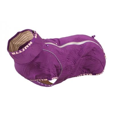 Hurtta Casual Hunde Jacke, gesteppt, für Mops und Bulldoggen, 30XL, violett