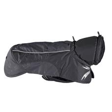 Hurtta Ultimate Warmer Wärmejacke für Hunde, Rückenlänge 70cm, Granit