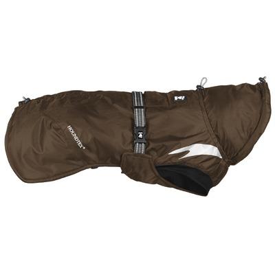 Hurtta Wintermantel für Hunde Summit Parka, Rückenlänge 40 cm, braun