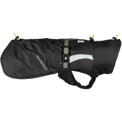Hurtta Wintermantel für Hunde Summit Parka, Rückenlänge 20cm, Schwarz