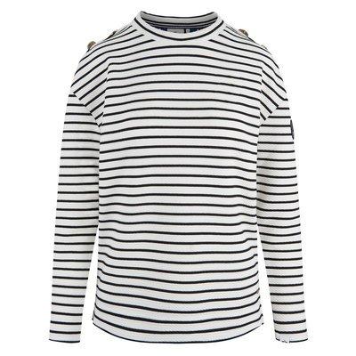 HV Society Streifen Sweater Sage
