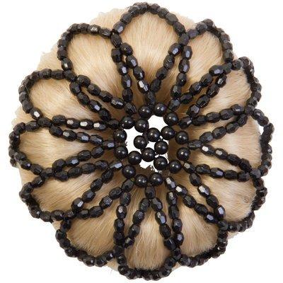 Imperial Riding Knoten Haarnetz mit Perlen