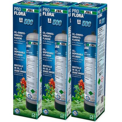 JBL ProFlora u500 (CO2-Einweg-Vorratsflasche)