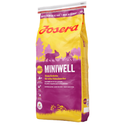 Josera Miniwell Hundefutter, 15 kg