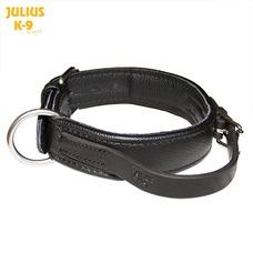 Julius K9 Öko Leder Halsband mit Griff