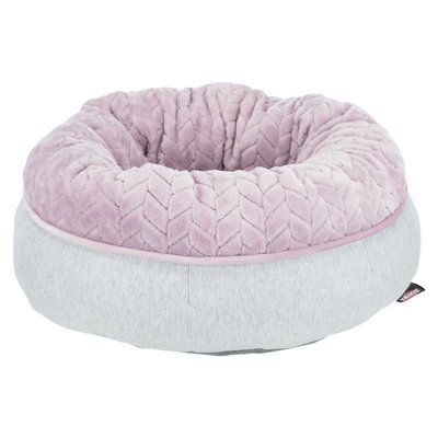 TRIXIE Junior Bett aus Plüsch für Welpen rund