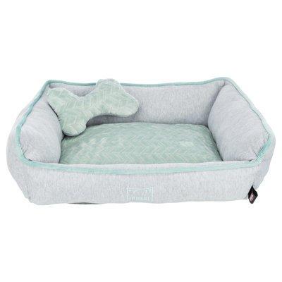 Trixie Junior Bett aus Plüsch für Welpen eckig