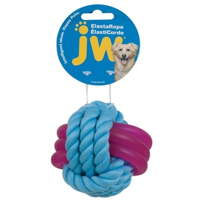 JW Pet ELASTAROPE Monkey Fist Hundespielzeug