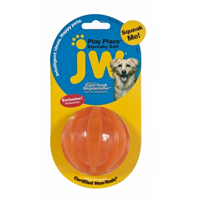 JW Pet Squeacky Ball Quietschball Preview Image