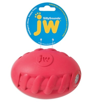 JW Pet JW SILLYSOUNDS Spiral Football