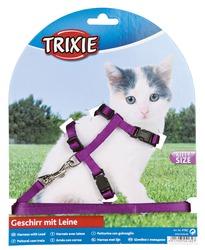 Trixie Kätzchen-Garnitur Katzenleine mit Katzengeschirr
