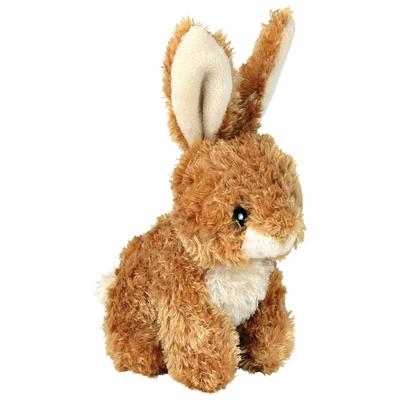 Kaninchen aus Plüsch für Hunde