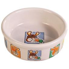 Keramik Kaninchennapf mit Motiv