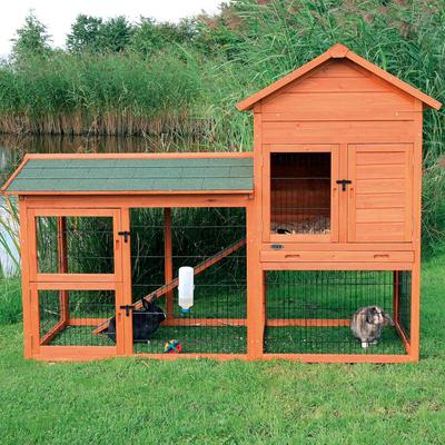 TRIXIE Kaninchenstall Natura mit Auslauf