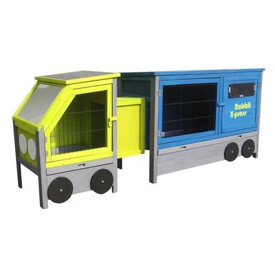 Kaninchenstall Truck