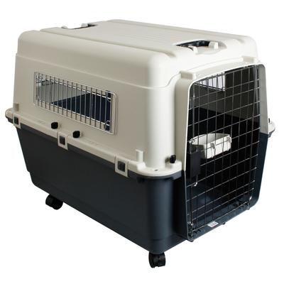 Karlie Flugzeugbox Nomad Hund, M, 68 cm x 51 cm x 47 cm