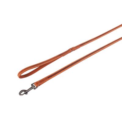 Karlie Hundeleine aus Leder Nomad, L: 110 cm B: 14 mm braun, mit Handschlaufe