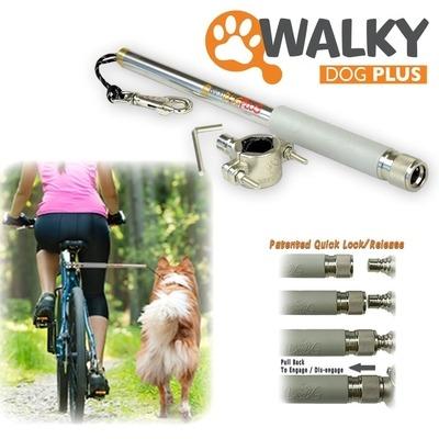Karlie Walky Dog Fahrradhalter Fahrradleine für Hunde, Komplettset
