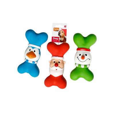Karlie Weihnachtsspielzeug aus Latex für Hunde