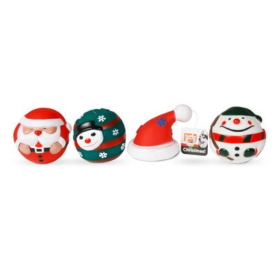 Karlie Weihnachtsspielzeug aus Vinyl für Hunde Preview Image