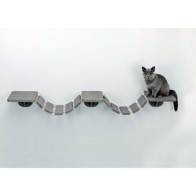 TRIXIE Katzen Kletterleiter zur Wandmontage