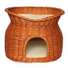 Trixie Katzen Korbhöhle mit Liegedach