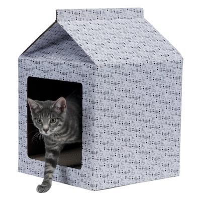 Katzen Kratzhaus aus Pappe
