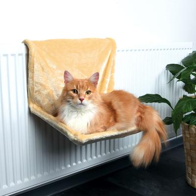 TRIXIE Katzen Liegemulde für Heizkörper Heizungsliege