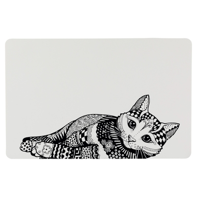 Napfunterlage Katze