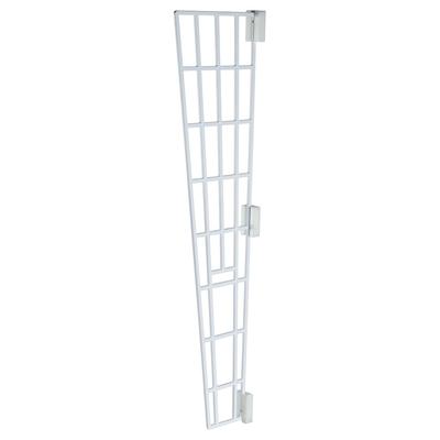 Katzen Schutzgitter für Fenster, Seitenteil, 62 × 16/7 cm, weiß