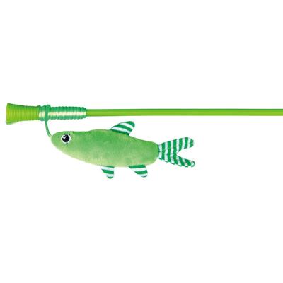 TRIXIE Spielangel für Katzen mit Fisch