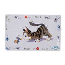 TRIXIE Katzen Tischset Comic-Katze