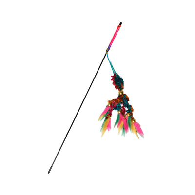 Katzenangel Samtrute, 46 cm multicolor
