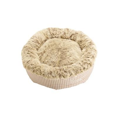 Katzenbett Hundebett Astana, 50x50 cm, braun