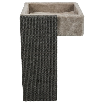 TRIXIE Katzenbett mit Kratzbrett für Regale