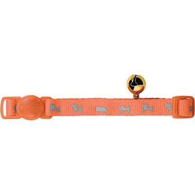 Katzenhalsband Neon, orange