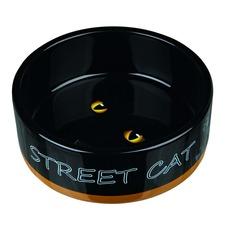 Katzennapf Street Cat Keramik, 0,3 l/ø 12 cm