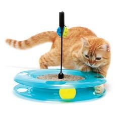 Katzenspiel Chase Track & Scratcher, 31 x 31 x 5 cm