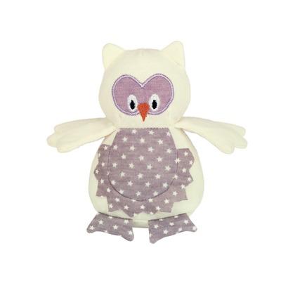 Nobby Katzenspielzeug Eule aus Stoff mit Knisterflügeln