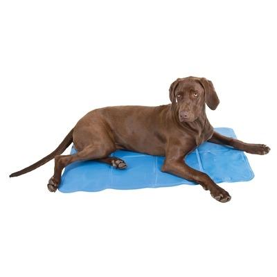 Kerbl Hunde Kühlmatte Cool-Relax-Pro, 60x90cm, hellblau