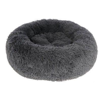 Kerbl Kuschelbett Fluffy grau