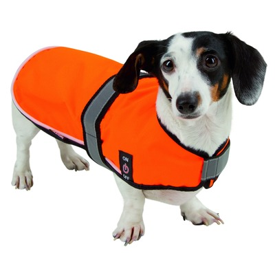 Kerbl LED Sicherheitsweste für Hunde Maxi Safe