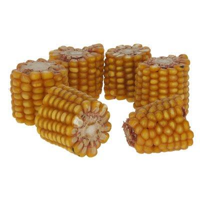 Kerbl Maiskolben geschnitten