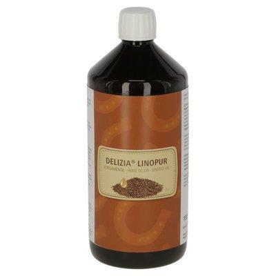 Delizia Pferde Leinsamenöl LinoPur