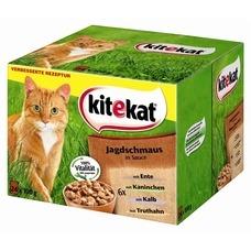 Kitekat Katzenfutter Multipack Jagdschmaus in Soße