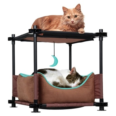 SportPet Designs Kitty City Cozy Bed Sleeper