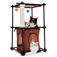SportPet Designs KITTY CITY Tower