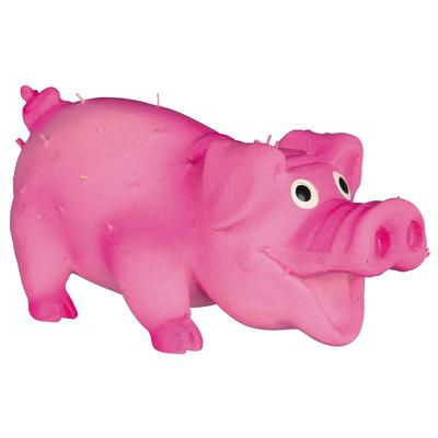 TRIXIE Kleines Borstenschwein aus Latex