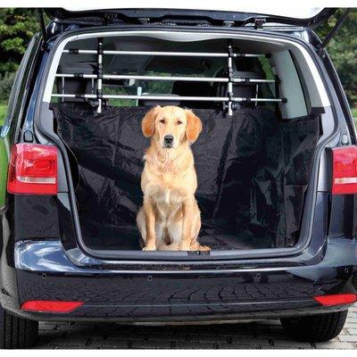 TRIXIE Kofferraumdecke für Hunde mit Wandverkleidung
