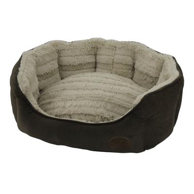 Nobby Komfort Haustier Bett oval KARA